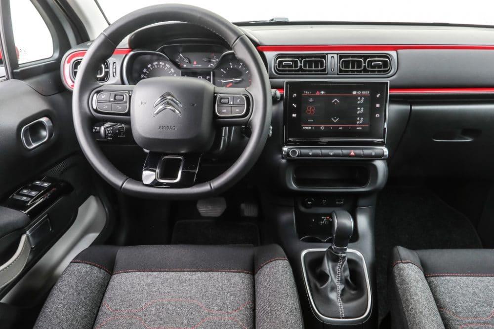 Intérieur Citroën C3 2018