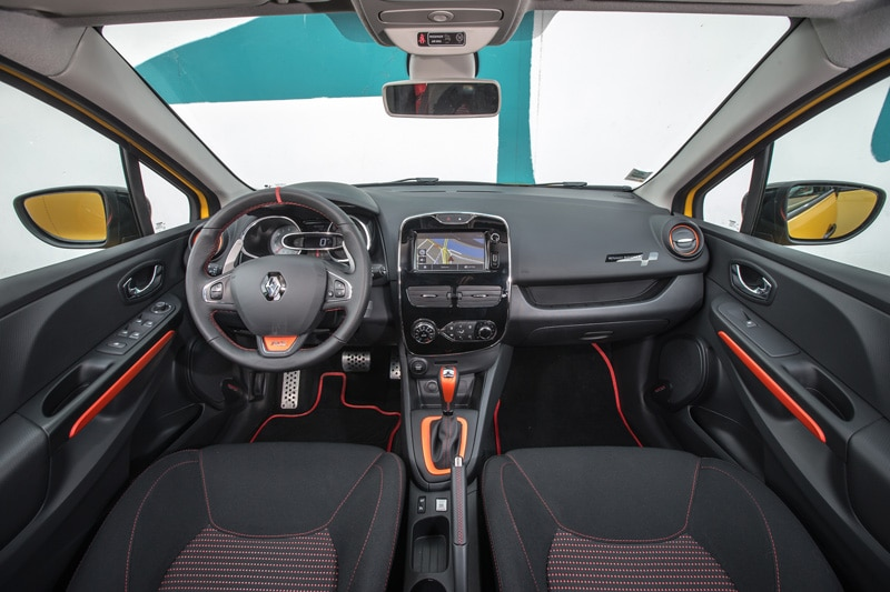 Intérieur Renault Clio 4 RS