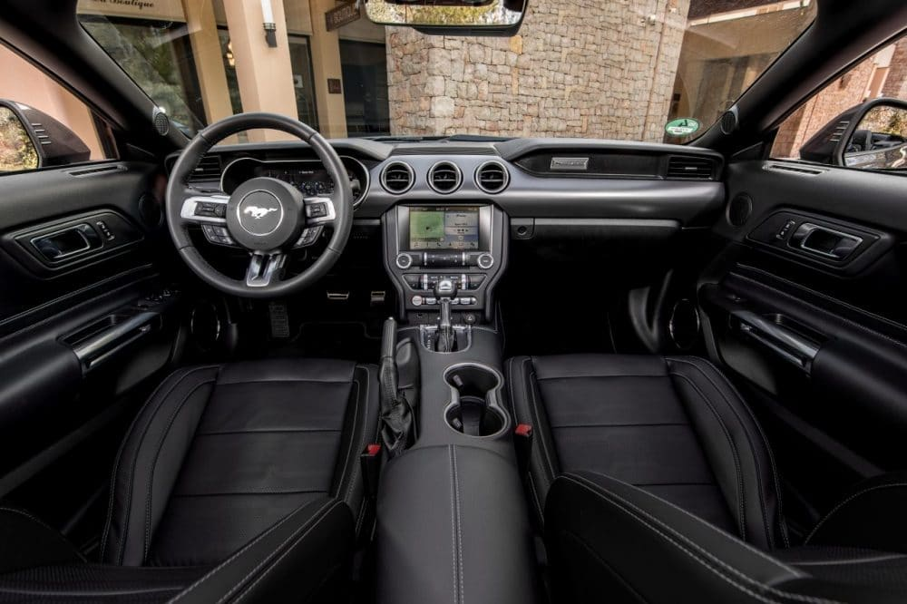 Intérieur Ford Mustang Cabriolet