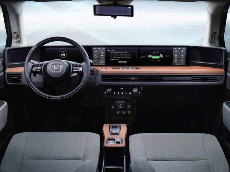 Intérieur de la Honda E