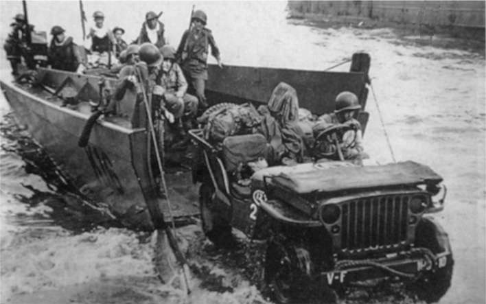 Jeep Willys en 1942