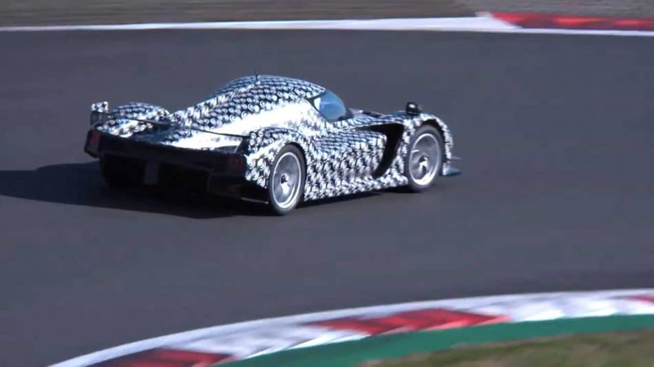 Toyota hypercar prototype