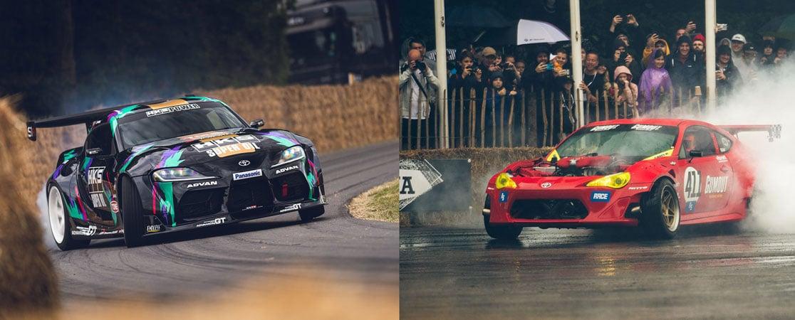 2JZ Supra A90 et GT458
