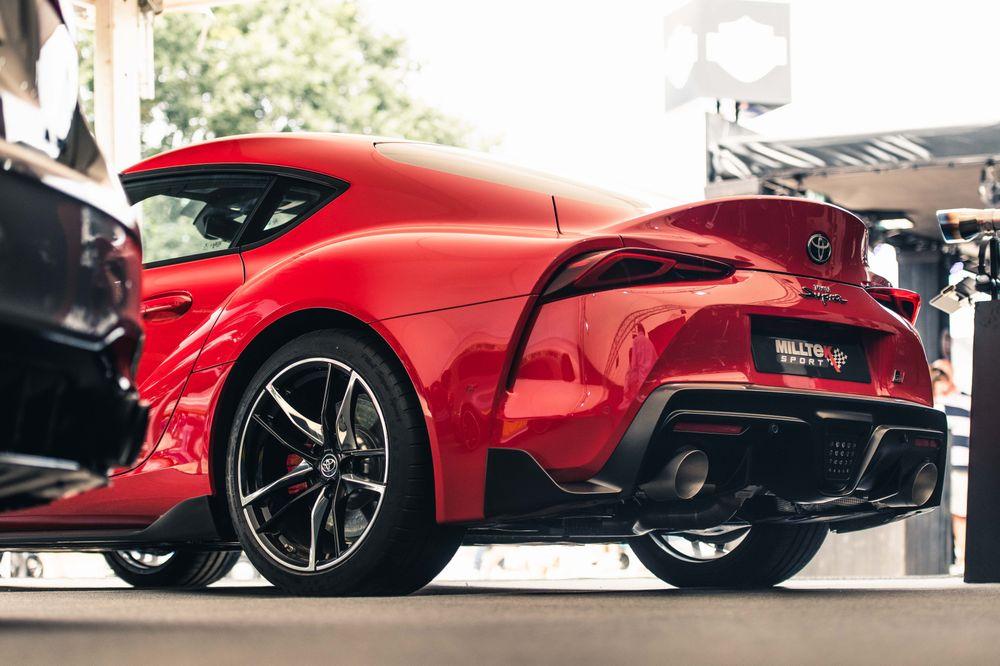 Échappement Milltek de la Toyota Supra
