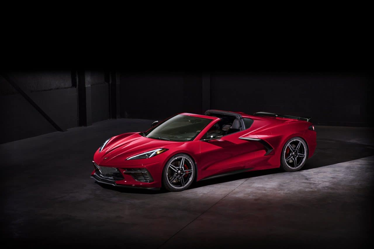 Nouvelle Chevrolet Corvette C8 (2020)
