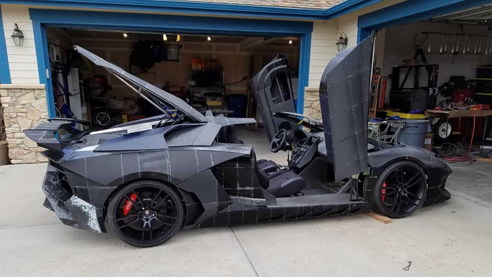 Lamborghini Aventador en impression 3D