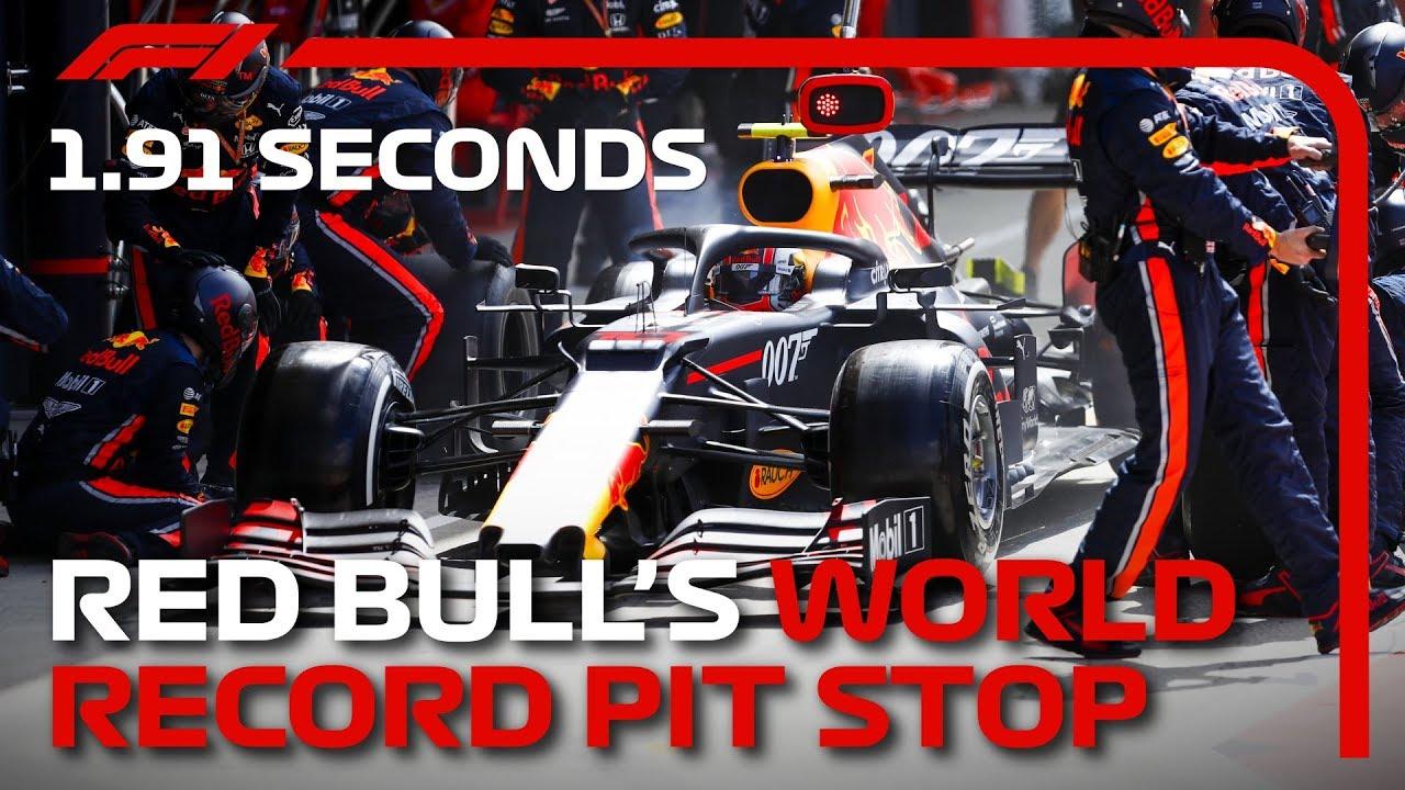 Red Bull signe l'arrêt au stand le plus rapide de l'Histoire