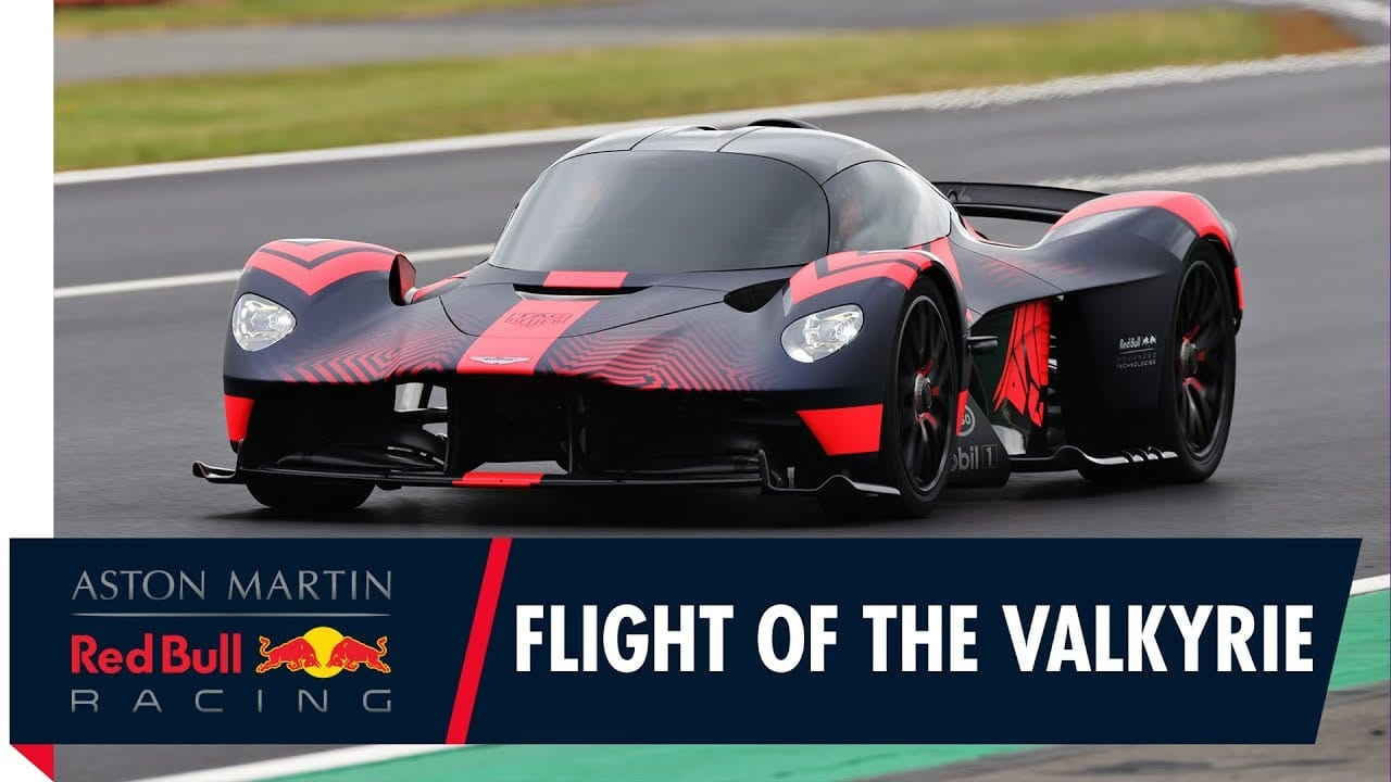 L'Aston Martin Valkyrie à Goodwood 2019