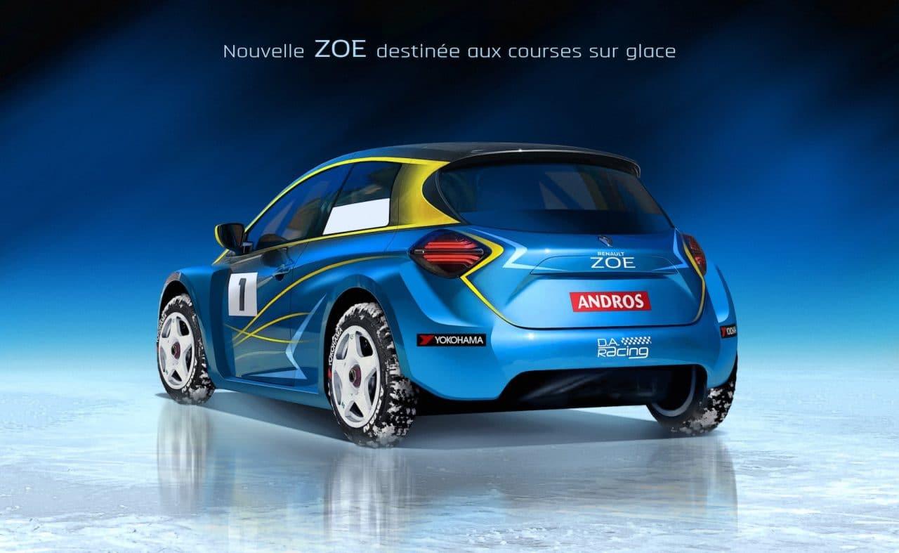 Renault ZOE Au Trophée Andros
