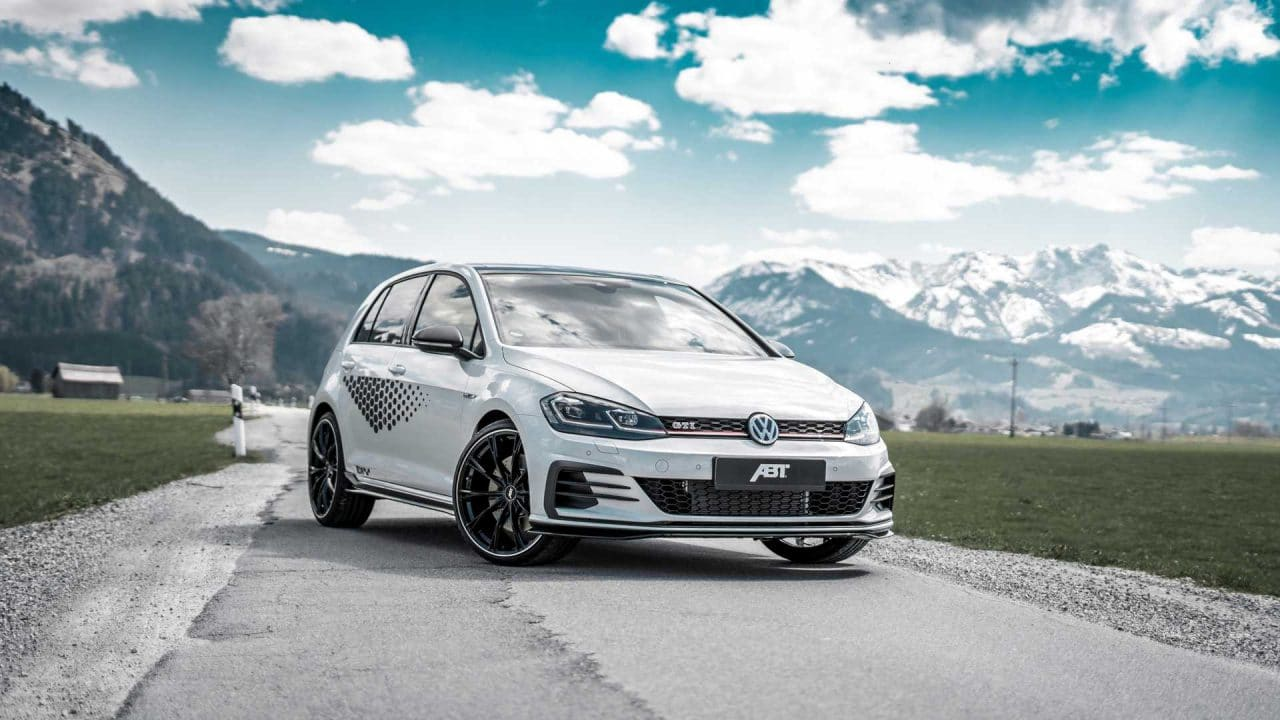 VW Golf GTI TCR par ABT