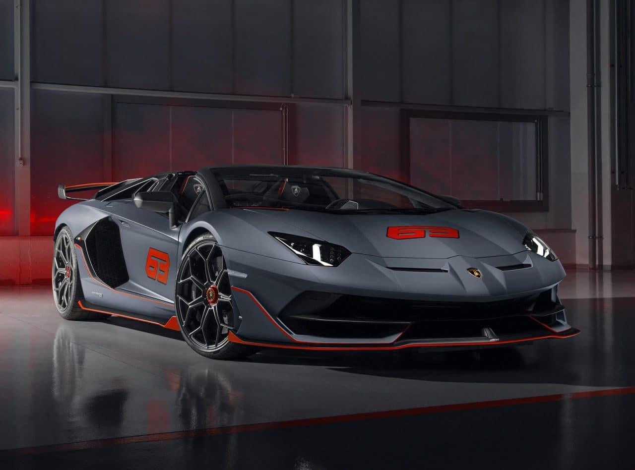 Lamborghini Aventador SVJ 63
