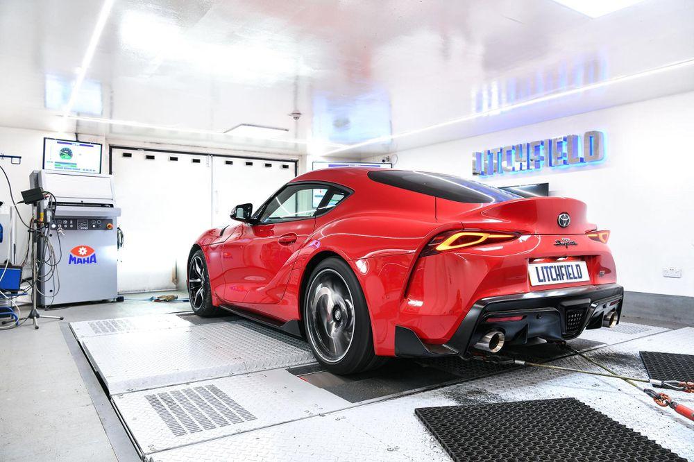 Litchfield offre 420 ch à la nouvelle Toyota Supra