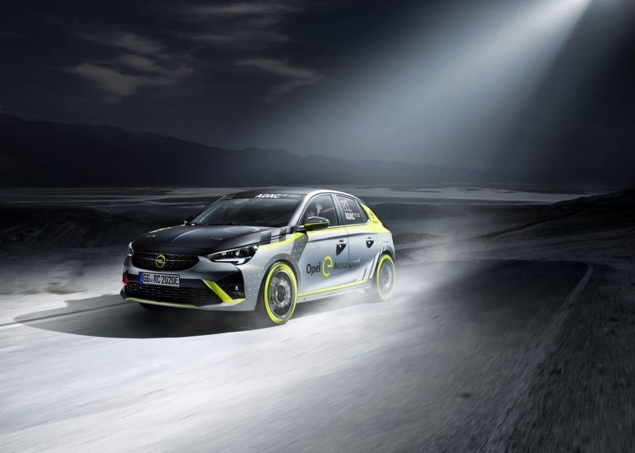Opel Corsa électrique rallye