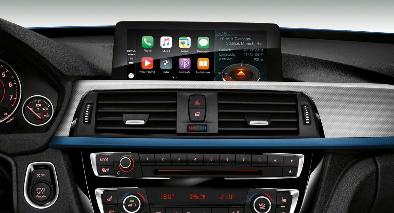 Abonnement 100€/mois BMW Apple CarPlay