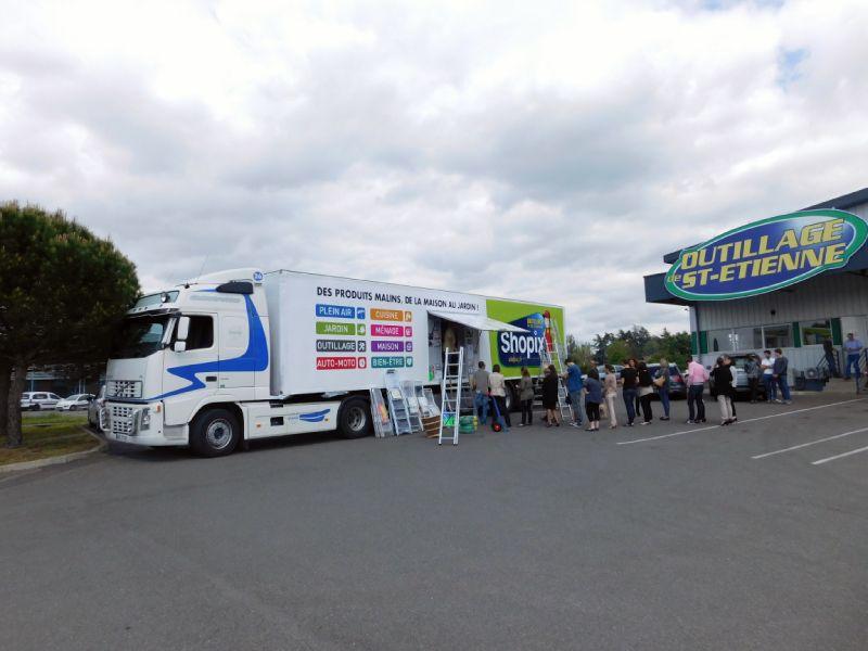 Outillage automobile : camion Shopix