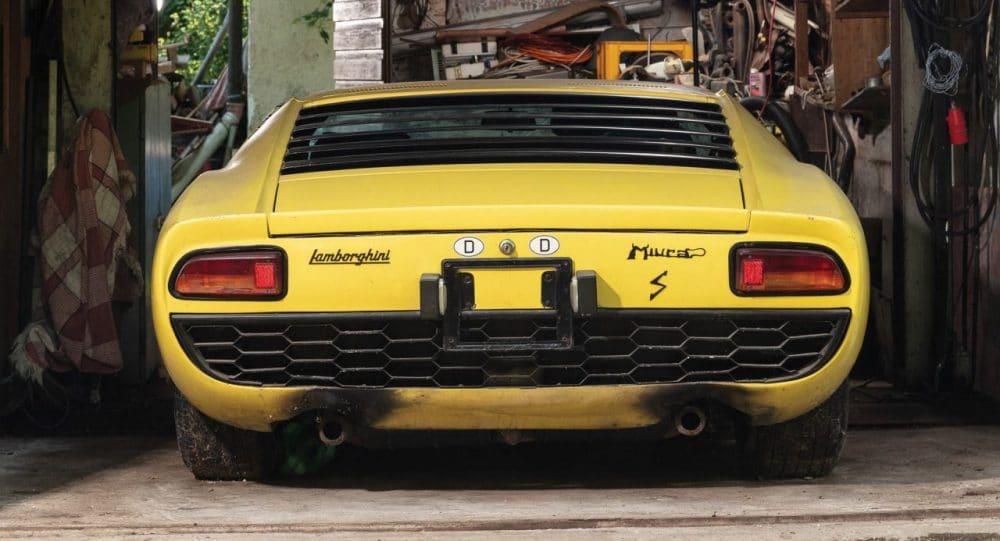Lamborghini Miura P400 S retrouvée en Allemagne