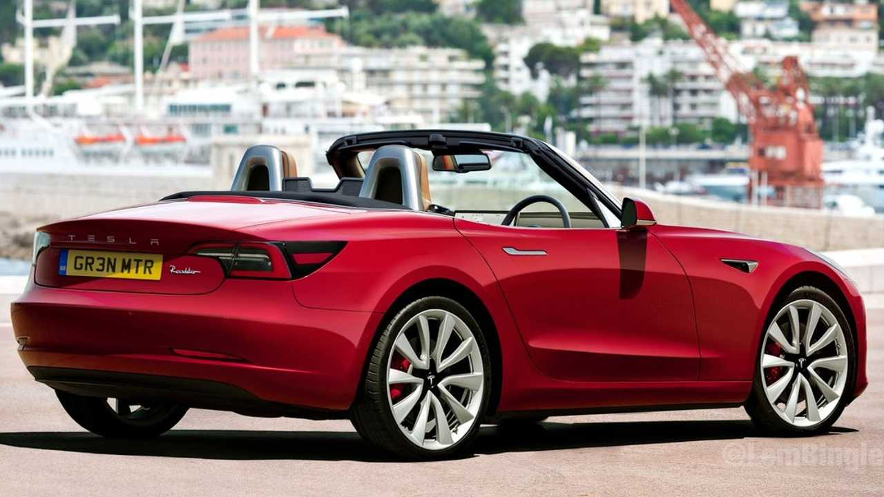 Tesla Model 3 Roadster 2 places ?