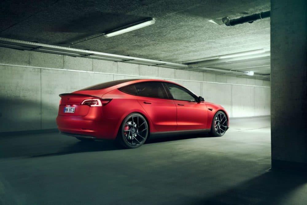 Tesla Model 3 par Novitec