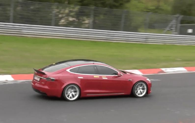 Tesla Nurburgring