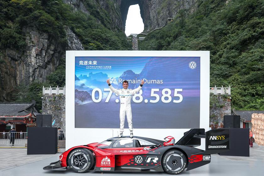 Nouveau record pour la Volkswagen ID.R en Chine
