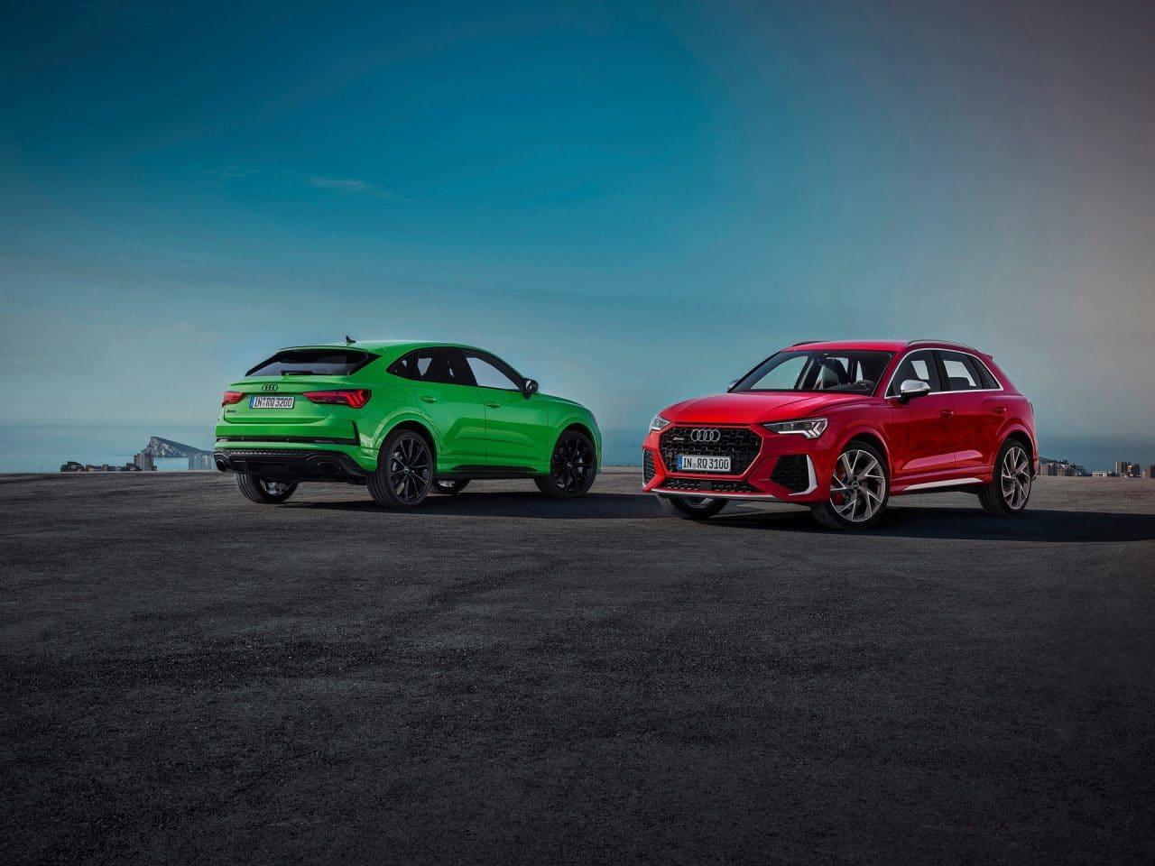 Nouveaux RS Q3 et RS Q3 Sportback