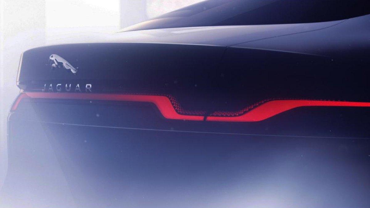 Teaser 2020 Jaguar XJ