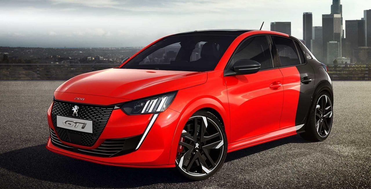 Concept de la future Peugeot 208 GTi par X-Tomi Design
