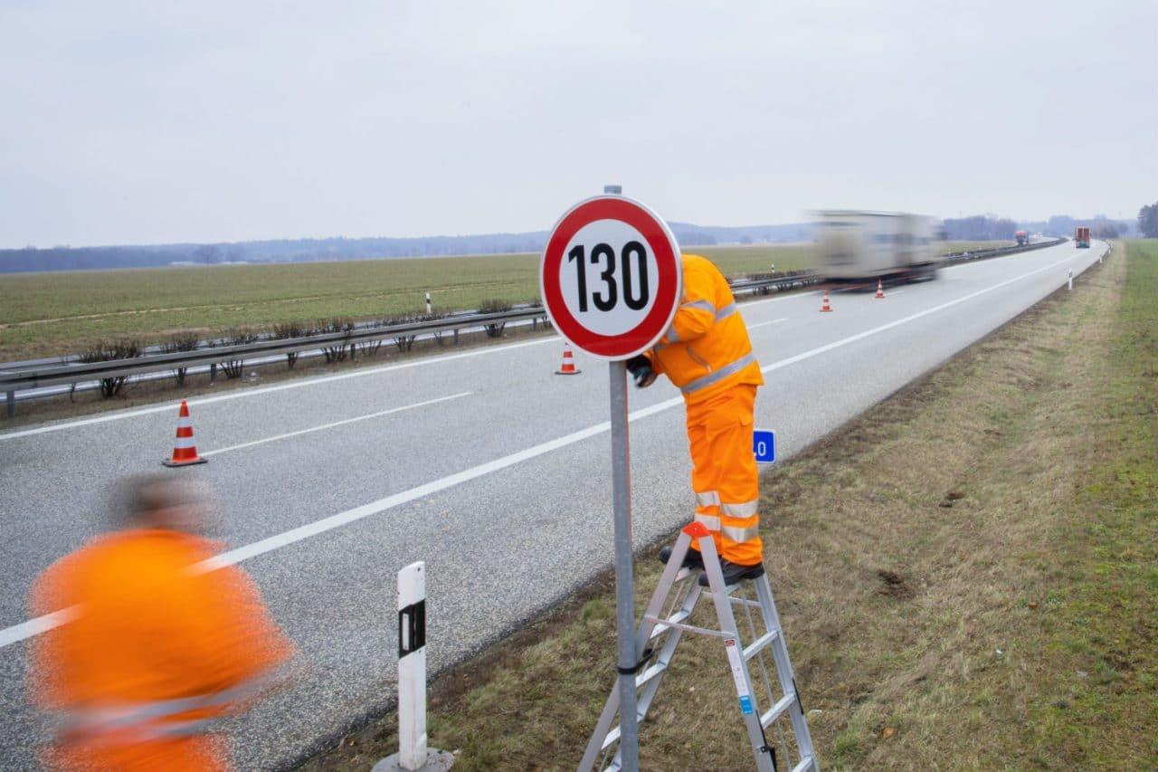 Autobahn bientôt limité à 130 km/h.