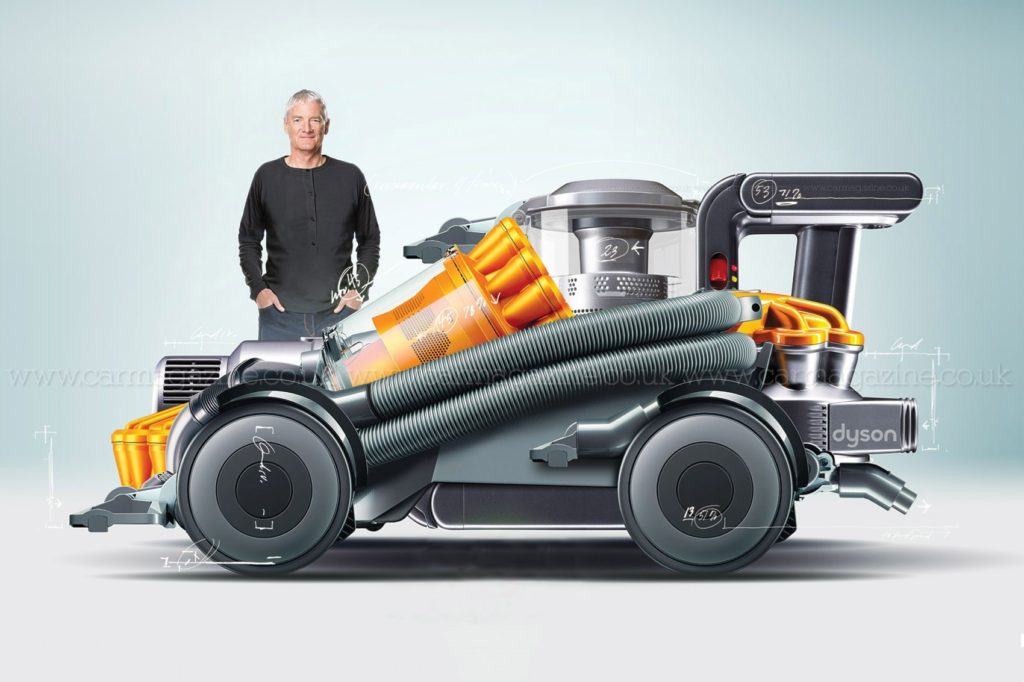 Dyson abandonne son projet de SUV (voiture) électrique