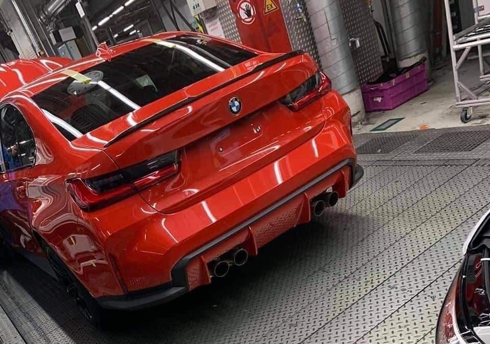 La nouvelle BMW M3 (G80) aurait-elle fuité ?