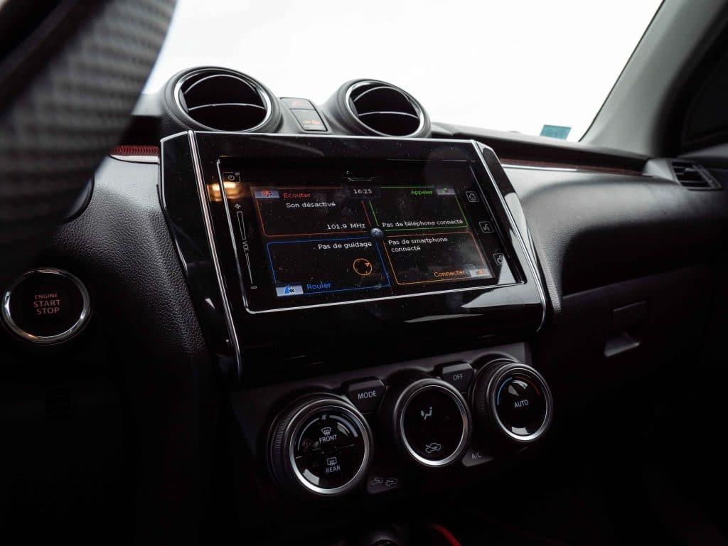Intérieur - Suzuki Swift Sport (2019)