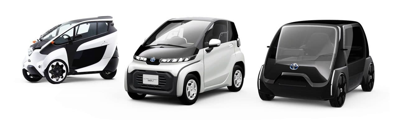 Ultra-compact BEV et REVA G-Whizz
