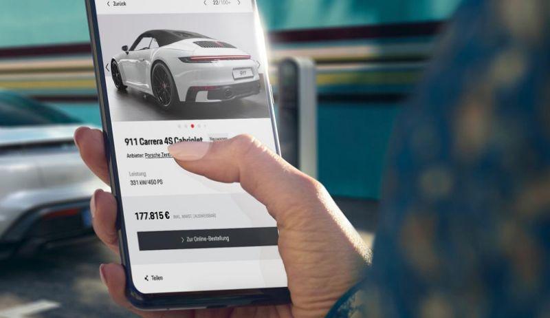 Vente en ligne Porsche