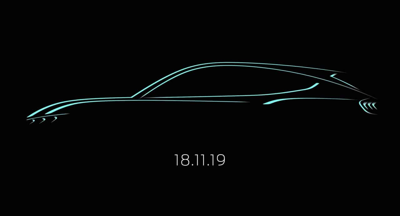 Ford SUV électrique Mustang teaser
