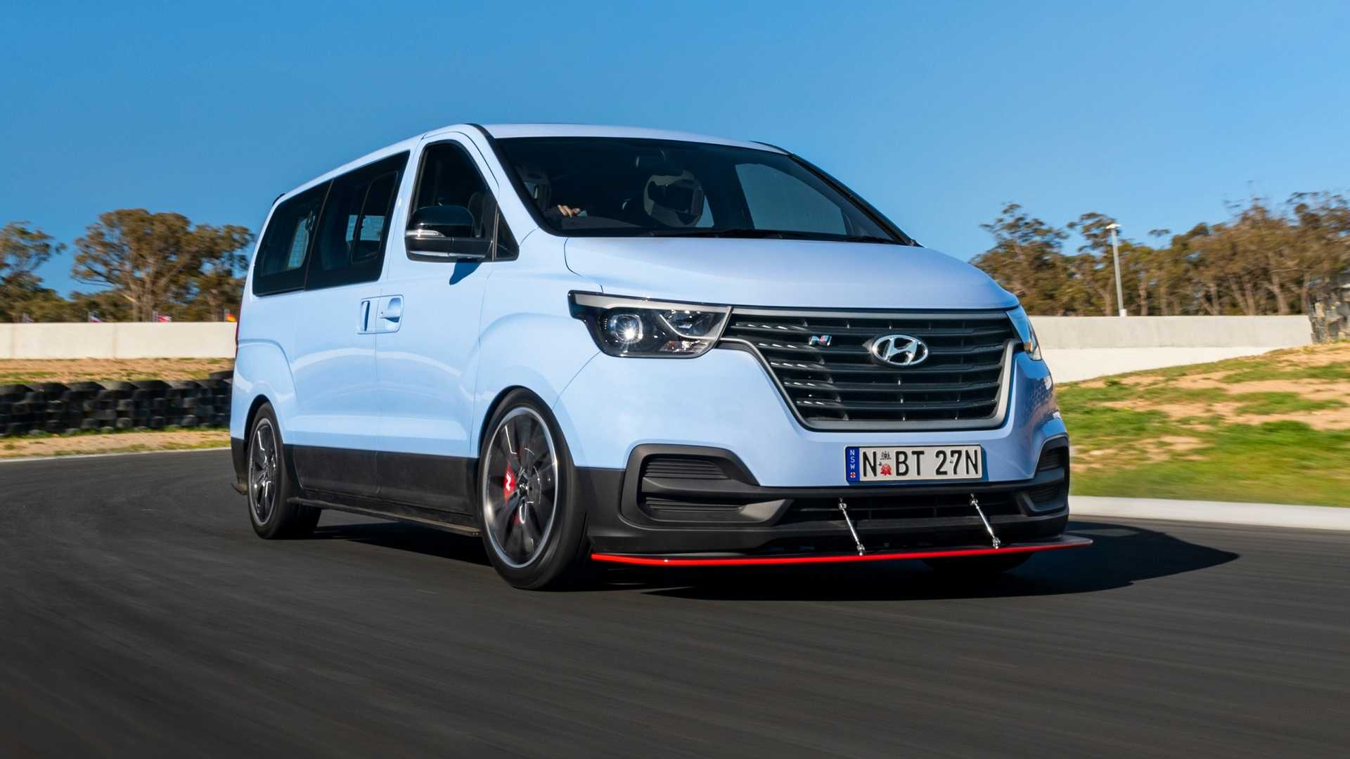 Hyundai iMax N Drift monospace