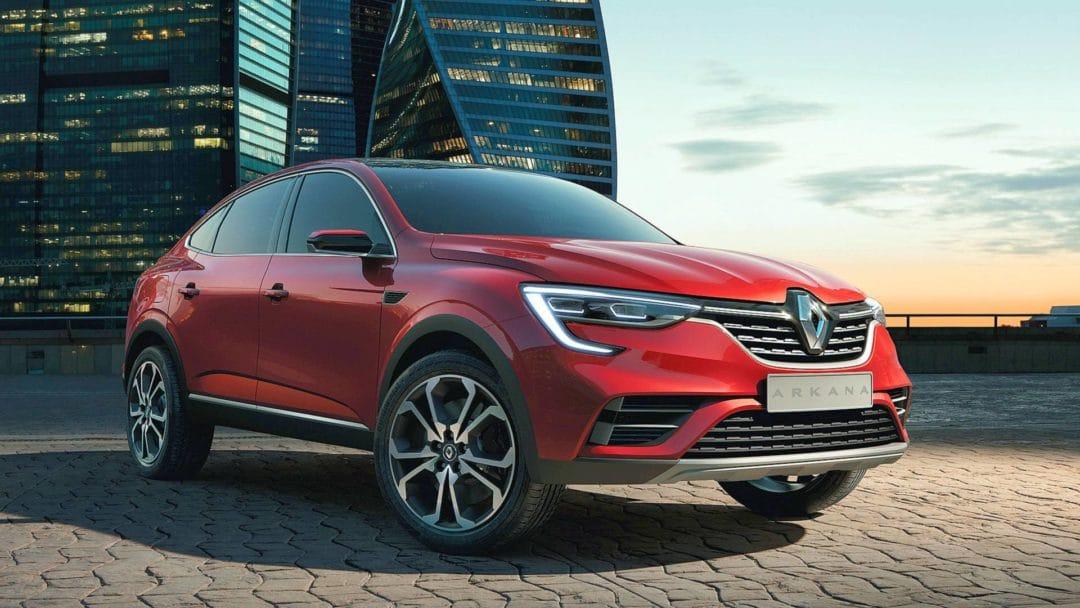 Renault Arkana 2021 en Europe