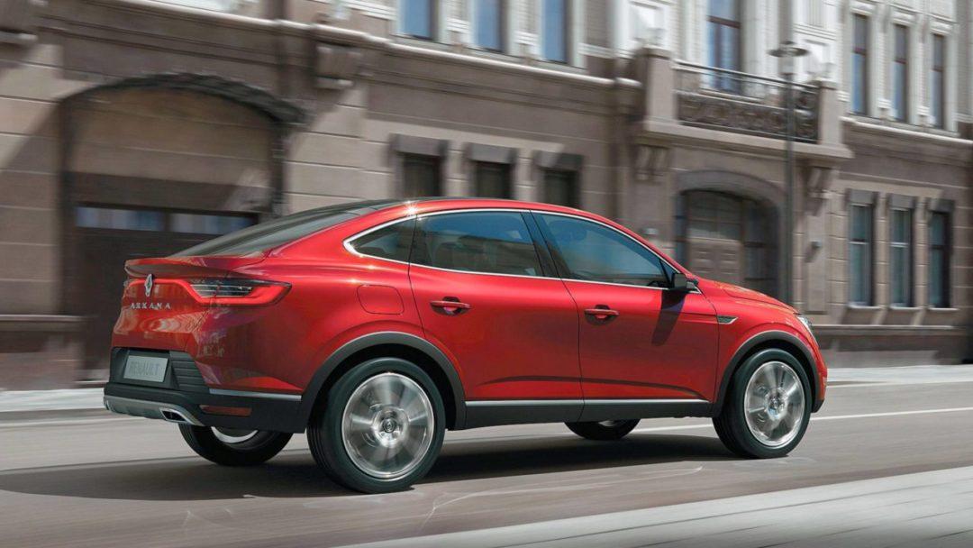 Le Renault Arkana confirmé en Europe pour 2021
