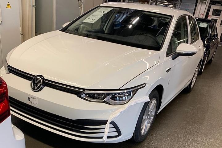 Fuite Volkswagen Golf 8