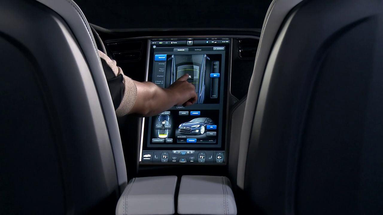 Mise à jour Tesla