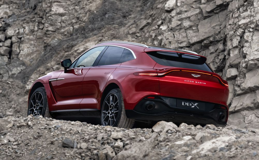 L'Aston Martin DBX (2020)