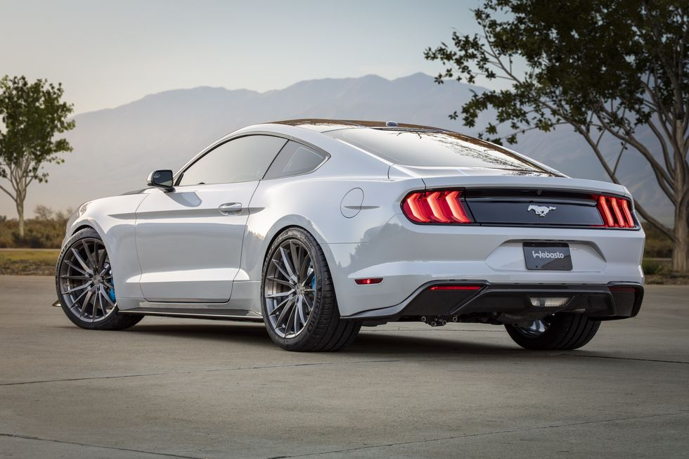 Ford Mustang Lithium électrique avec l'aide de Webasto