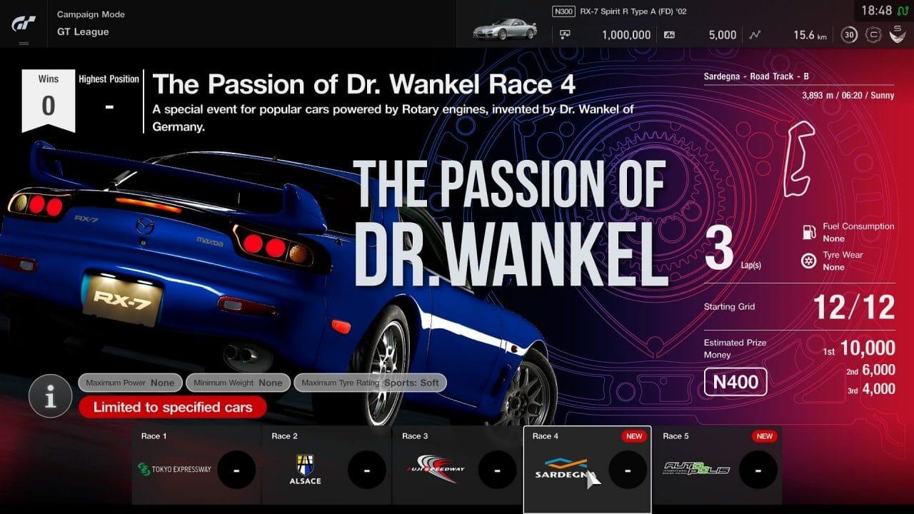 GT Sport - mise à jour novembre 2019