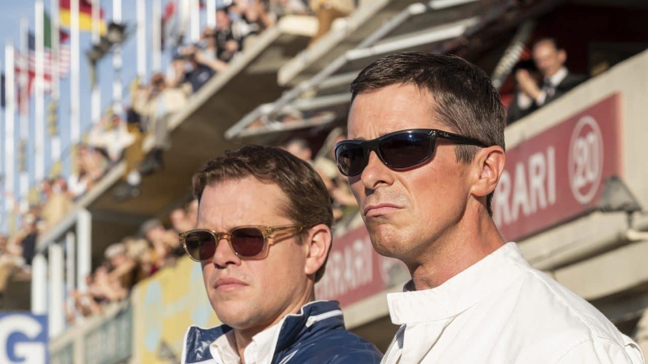 """Matt Damon et Christian Bale dans """"Le Mans 66"""""""