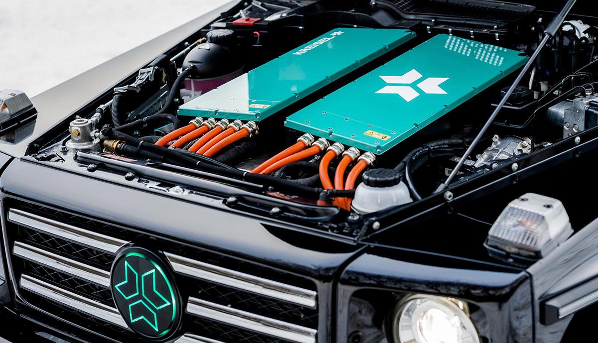 Mercedes Classe G électrique