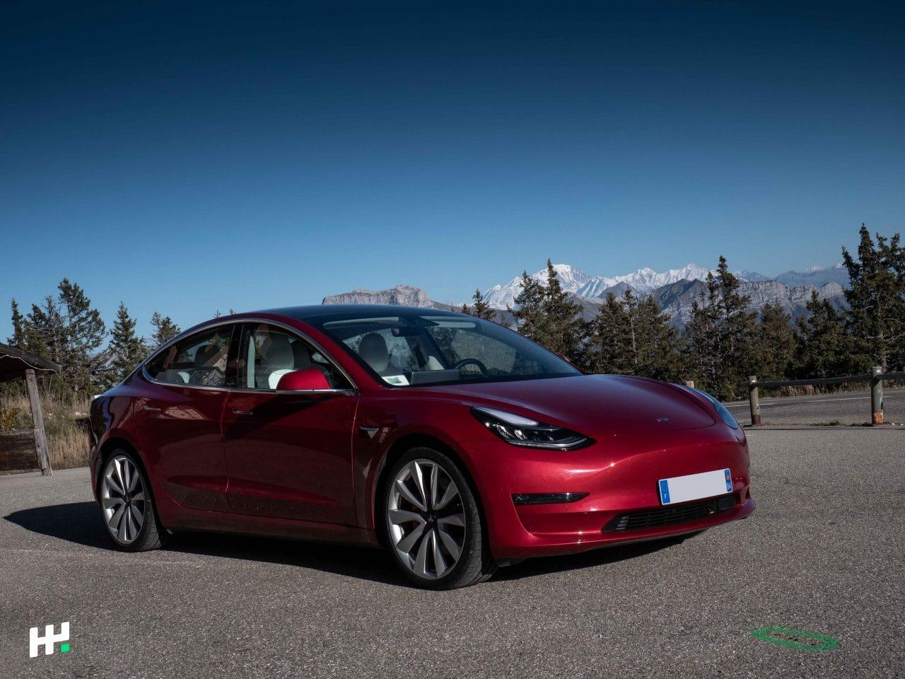 Propriétaire Tesla Model 3