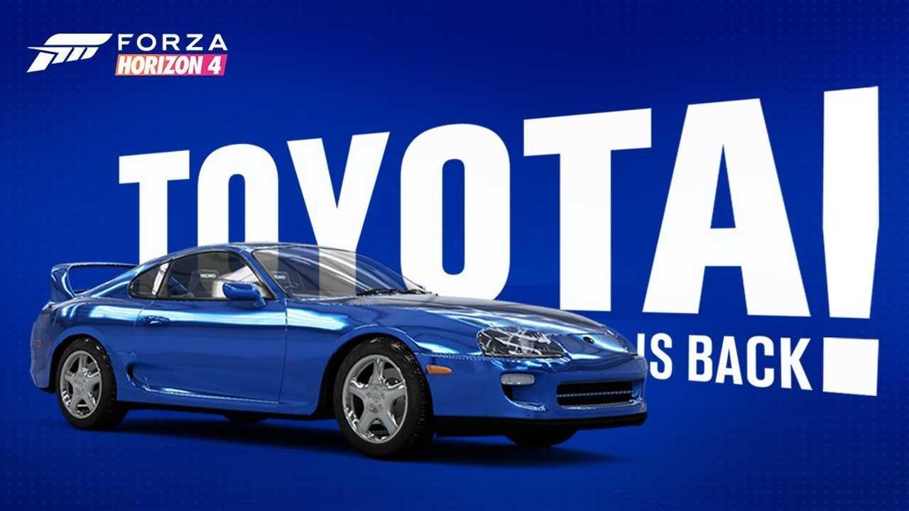 Toyota de retour dans Forza Horizon 4