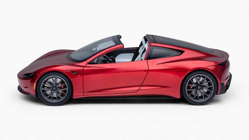 Miniature 1:18 de la Tesla Roadster 2.0