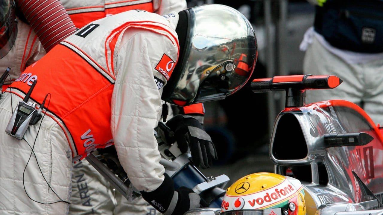F1 pollution