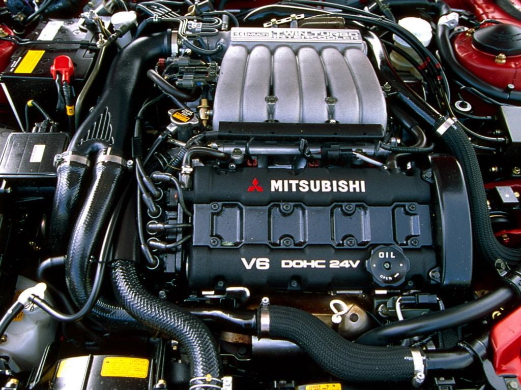 Moteur de la Mitsubishi 3000 GT
