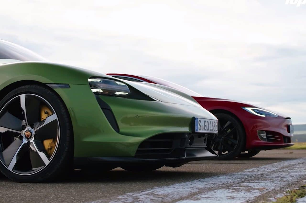 Tesla contre Porsche
